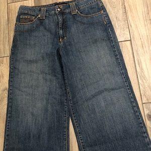 Jeanstar Women's  Capri  Jeans Size 12 Flare Leg